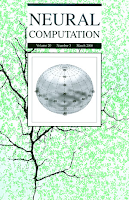 Neural Computation - March 2008 issue cover